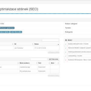 Detail projektu - klientský systém